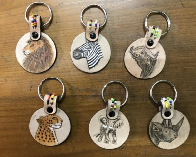 Animal Keyring – Beaded