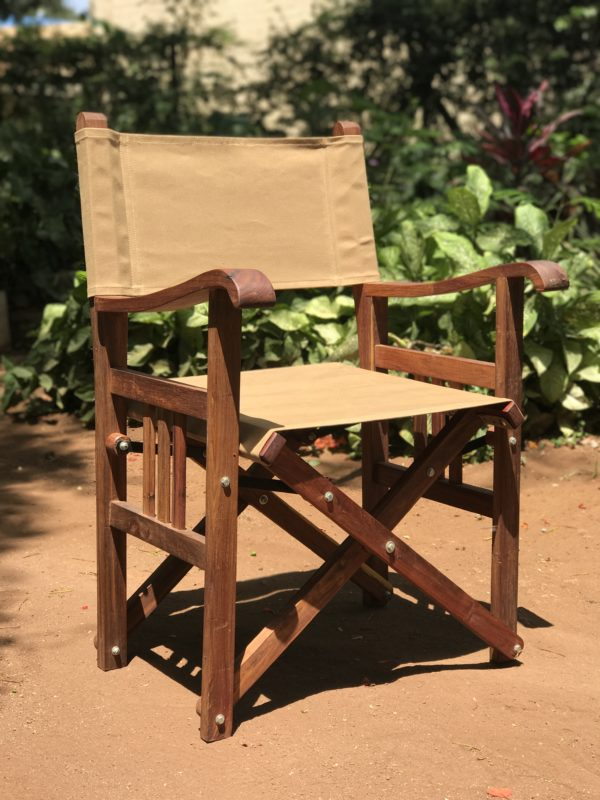 Directors Chair in Canvas